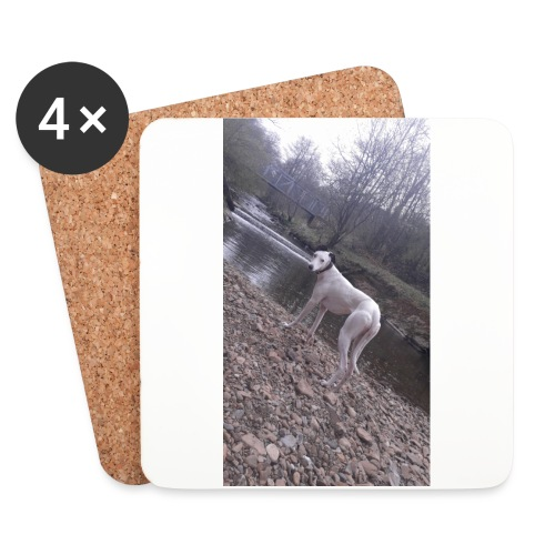 lurcher - Coasters (set of 4)