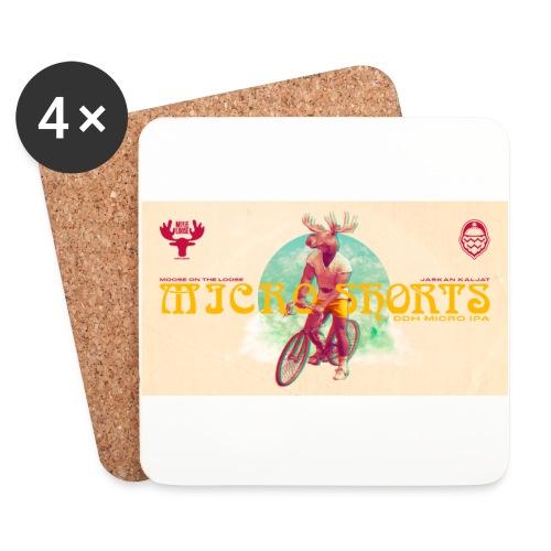 Moose On The Loose X JaskanKaljat Micro Shorts DDH - Lasinalustat (4 kpl:n setti)