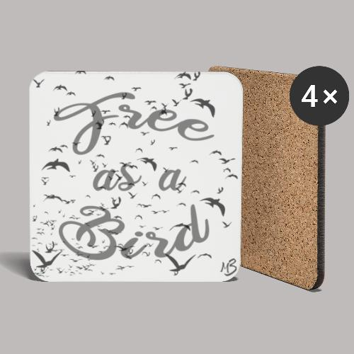 free as a bird | free as a bird - Coasters (set of 4)
