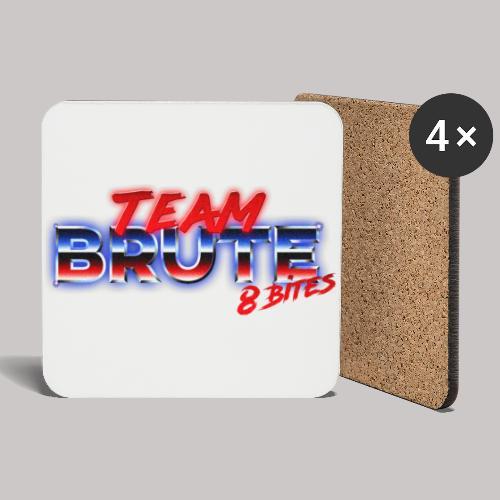Team BRUTE Red - Coasters (set of 4)