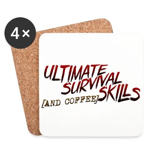 Ultimate Survival Skills - Lasinalustat (4 kpl:n setti)