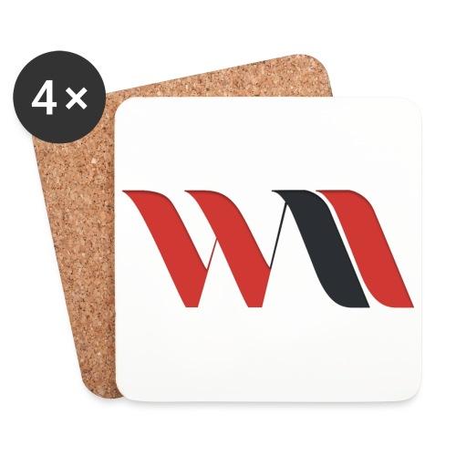 Logo WAO - Dessous de verre (lot de 4)