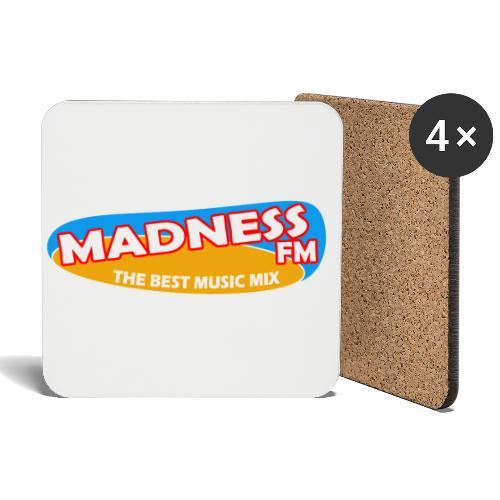 MadnessRadioLogo - Coasters (set of 4)