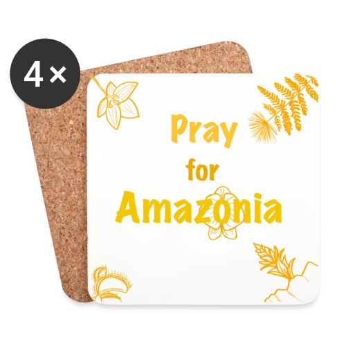 Pray for Amazonia - Untersetzer (4er-Set)