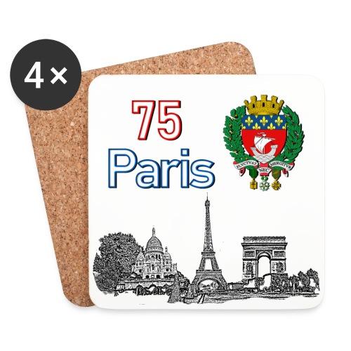 Paris france - Dessous de verre (lot de 4)