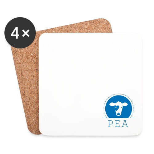 logo pea trnsprt - Dessous de verre (lot de 4)