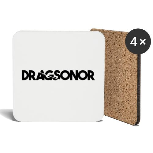 DRAGSONOR black - Coasters (set of 4)