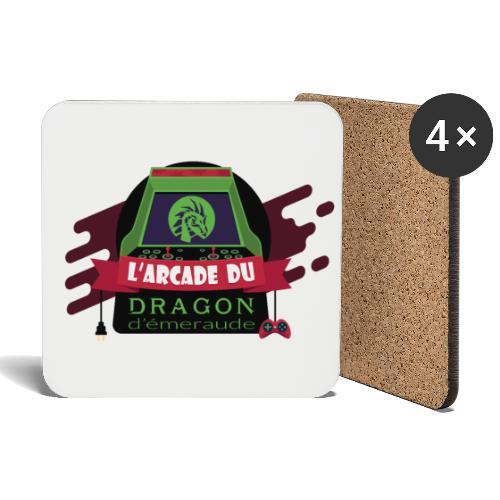 L'arcade du Dragon d'émeraude - Dessous de verre (lot de 4)