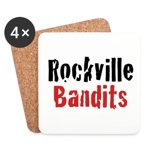 Rockville Bandits Schriftzug - Untersetzer (4er-Set)