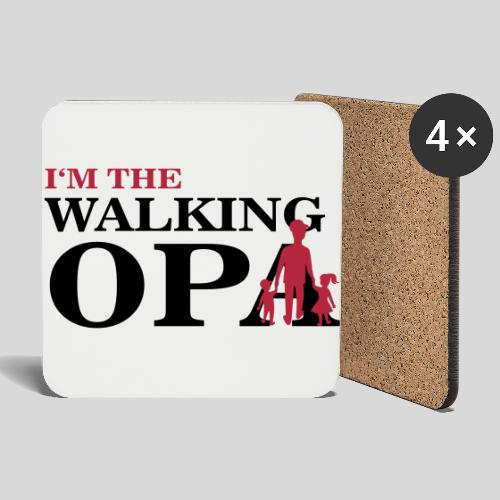 The Walking Opa 1 - Untersetzer (4er-Set)