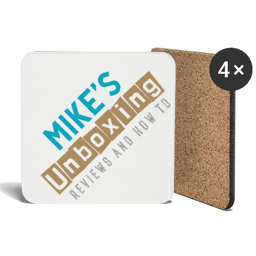 Mikesunboxing Classic Logo - Coasters (set of 4)