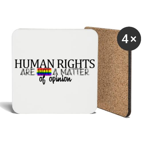 Huma rights - Posavasos (juego de 4)