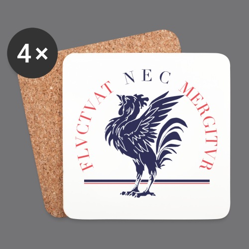 EMBLEME FRANCE Tee Shirts - Coasters (set of 4)