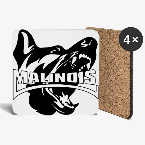 malinois - Dessous de verre (lot de 4)
