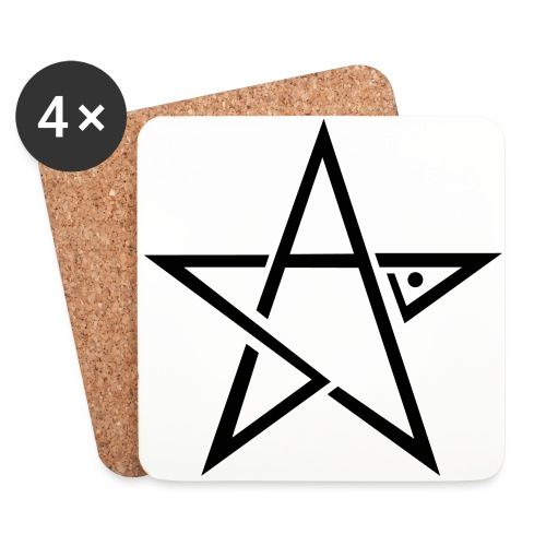 skill logo star - Coasters (set of 4)