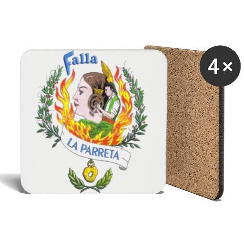 Falla La Parreta - Posavasos (juego de 4)
