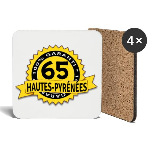 65 Hautes-Pyrénées - Dessous de verre (lot de 4)