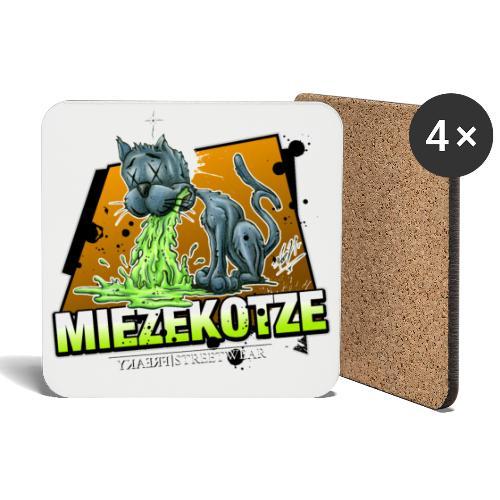 Miezekotze - Untersetzer (4er-Set)