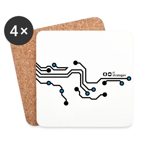Platinen - Untersetzer (4er-Set)