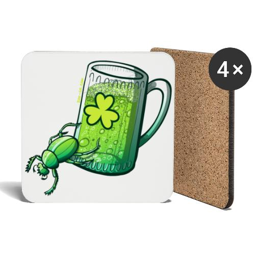 Saint Patrick's Day Beetle - Coasters (set of 4)