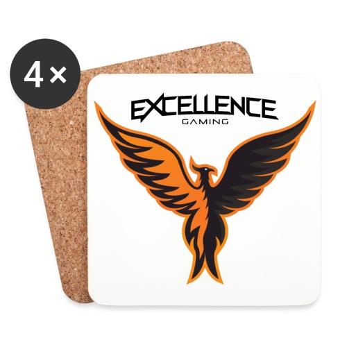 Logo Phoenix Typo - Dessous de verre (lot de 4)
