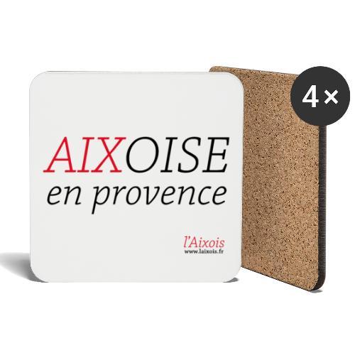 AIXOISE EN PROVENCE - Dessous de verre (lot de 4)