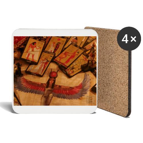 Tarocchi egizi - Sottobicchieri (set da 4 pezzi)