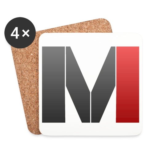 MrGank LOGO - Coasters (set of 4)