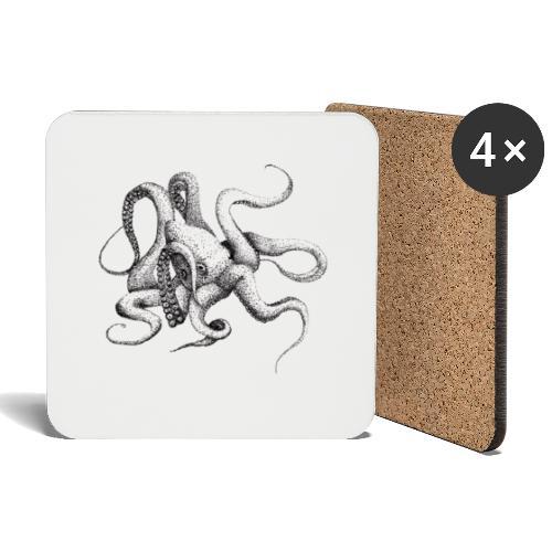 Kraken - Untersetzer (4er-Set)