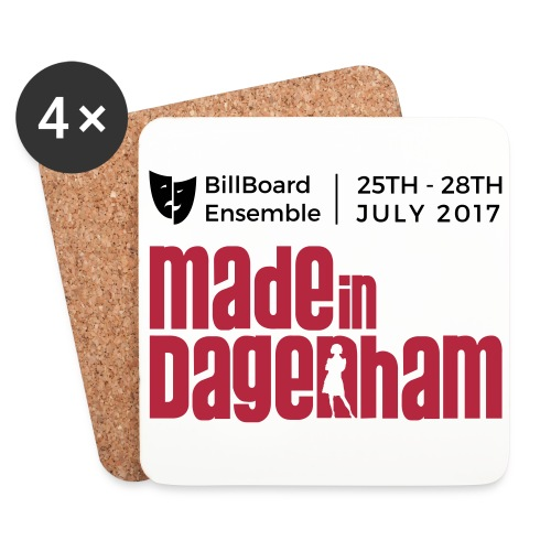 Made in Dagenham Vector - Coasters (set of 4)