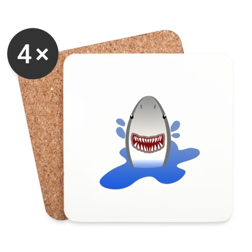 shark - Dessous de verre (lot de 4)