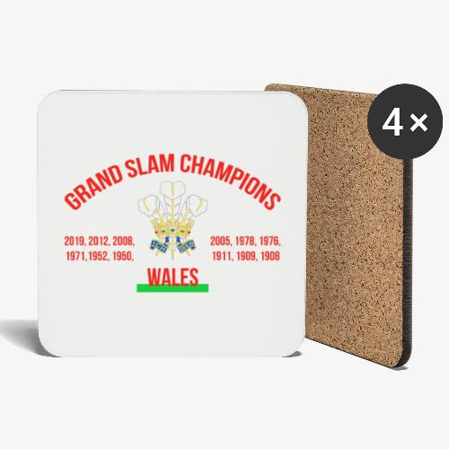 Wales Grand Slam - Coasters (set of 4)