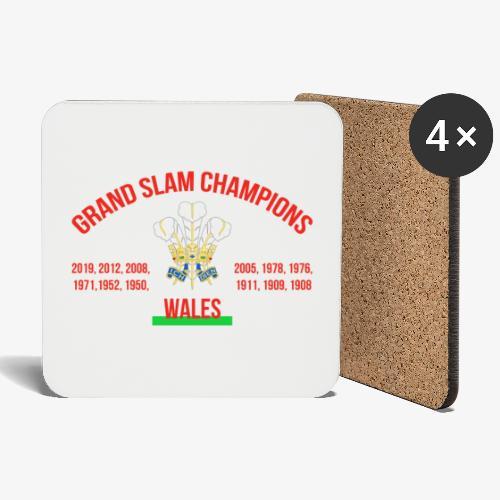 Wales Grand Slam - Coasters (set of 4)