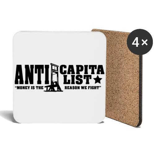 Anticapitalist - Lasinalustat (4 kpl:n setti)