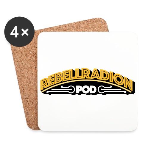 rebellradion logo 2017 - Underlägg (4-pack)