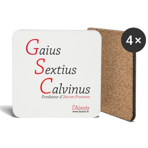 Gaius Sextius Calvinus - Dessous de verre (lot de 4)