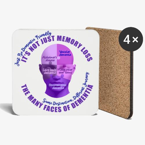 The Many Faces of Dementia - Coasters (set of 4)