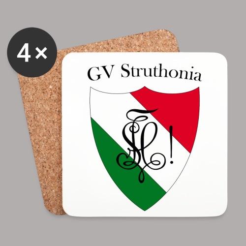 Wappen Struthonia (vorne) - Untersetzer (4er-Set)