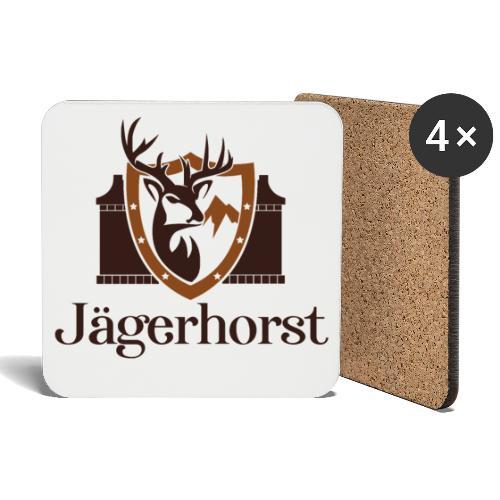 Jägerhorst Logo - Untersetzer (4er-Set)