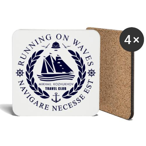 RUNNING ON WAVES - Coasters (set of 4)