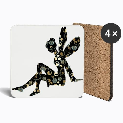 fairy abstract - Coasters (set of 4)