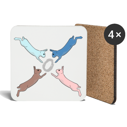 Easter - Coasters (set of 4)