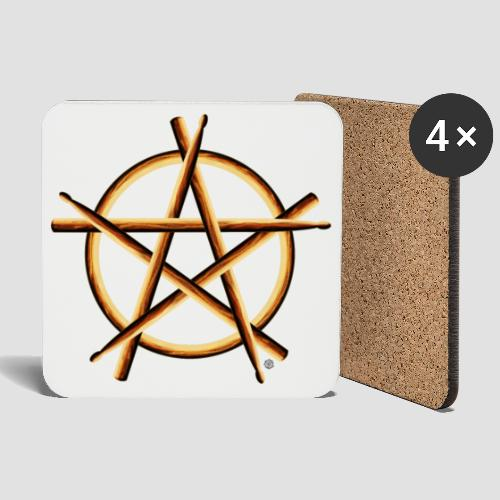 PAGAN DRUMMER - Coasters (set of 4)