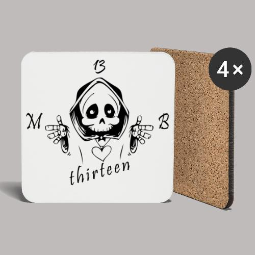 MB13 - Skull - Coasters (set of 4)