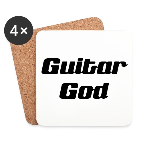 Guitar God - Coasters (set of 4)