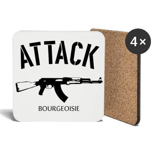 Attack bourgeoisie - Lasinalustat (4 kpl:n setti)