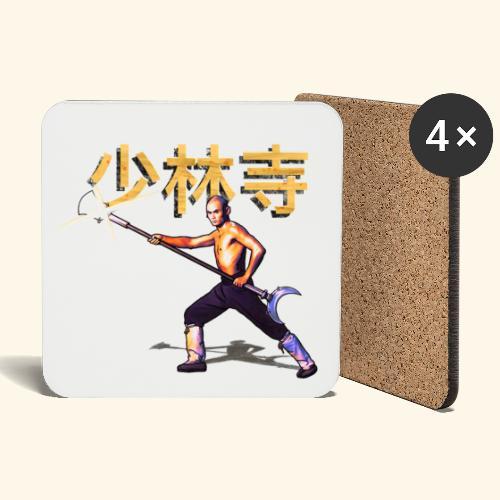 Gordon Liu som San Te - Warrior Monk - Glasbrikker (sæt med 4 stk.)