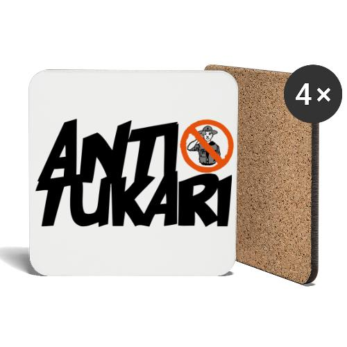 Anti Tukari - Lasinalustat (4 kpl:n setti)