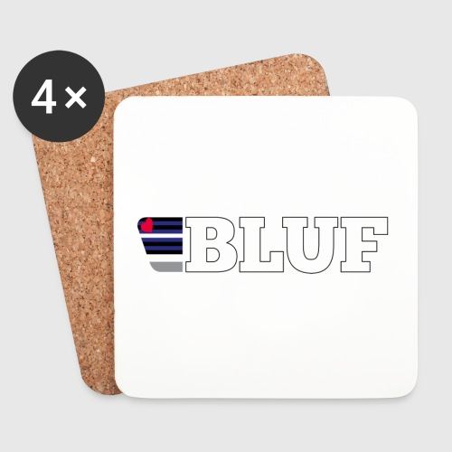 BLUF Leather Pride 2020 - Coasters (set of 4)