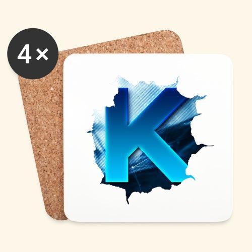 Kivvix Logga 1st Edition - Underlägg (4-pack)
